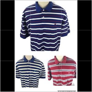 Lot of 3 Brooks Brothers Mens Polo Shirt XXL